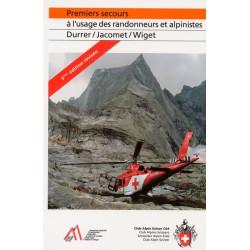 Achat Guide technique - Premiers secours à l'usage des randonneurs et alpinistes - Club Alpin Suisse