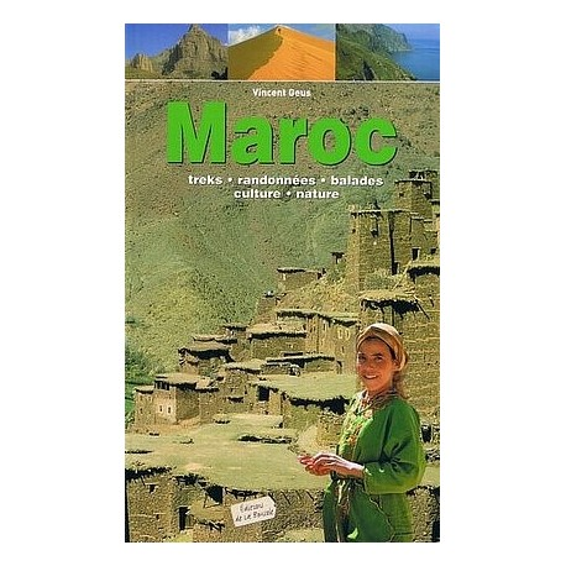 Achat Guide trek - Maroc - La Boussole