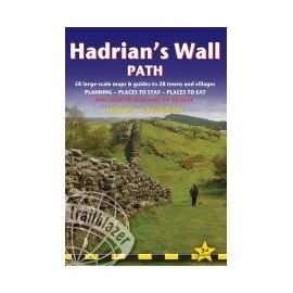 Achat Guide trek - Tracé du mur d'Hadrien: Wallsend à Bowness-on-Solway - Trailblazer