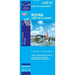Achat Carte randonnées IGN Royan - 1332 ET