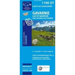 Achat Carte randonnées IGN - 1748 OT - Gavarnie - Luz St Sauveur