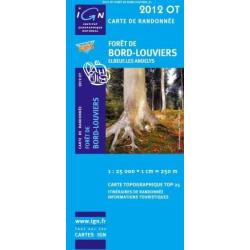 Achat Carte randonnées IGN - 2012 OT - Forêt De Bord Louviers Elbeuf Les Andelys
