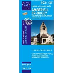 Achat Carte randonnées IGN - 3231 OT - Ambérieu En Bugey - Champagne en Valromey