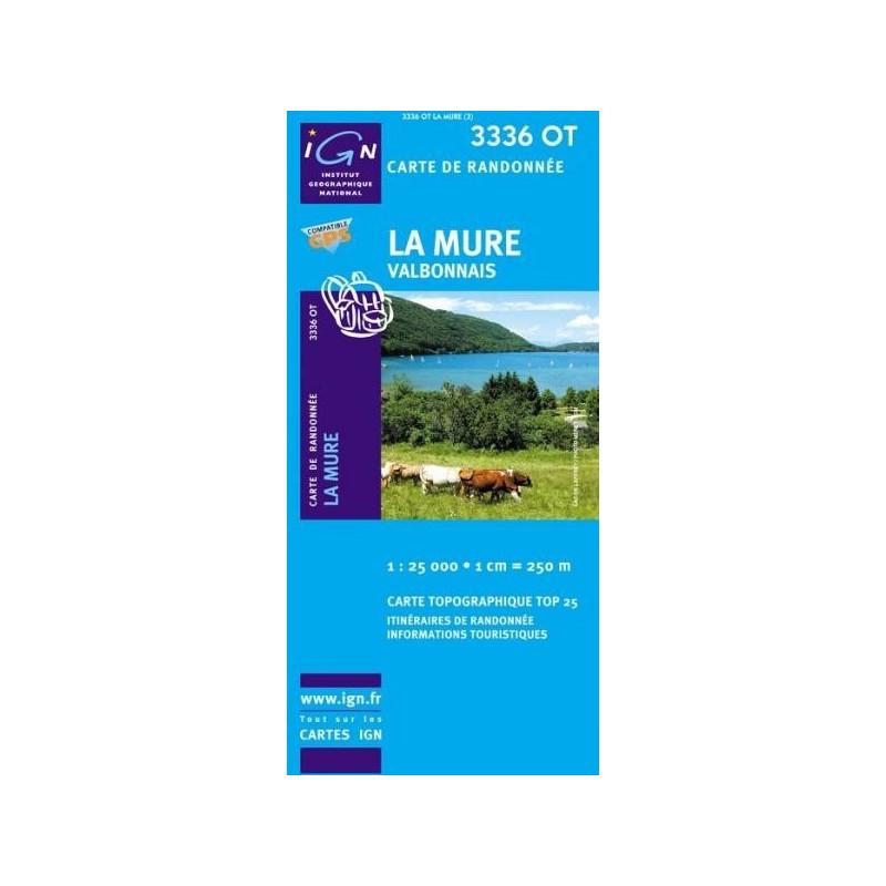 Achat Carte randonnées IGN - 3336 OT - La Mure - Valbonnais