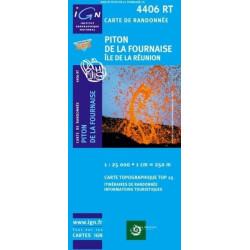 Achat Carte randonnées IGN - 4406 RT - Piton De La Fournaise - Île De La Réunion